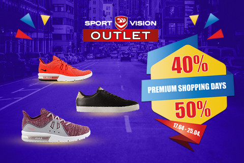 PREMIUM SHOPPING DAYS u Sport Vison OUTLETU