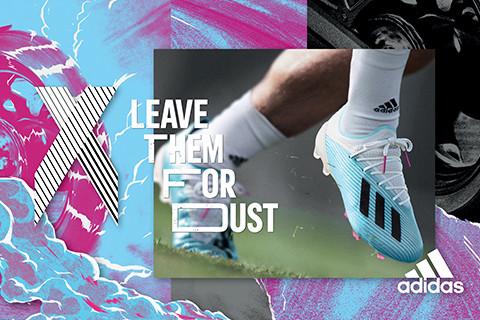 adidas Football predstavlja HARDWIERD kolekciju kopački sa upečatljivim bojama