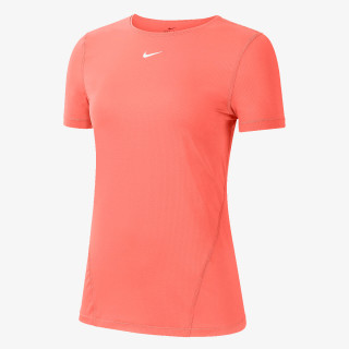 NIKE W NP TOP SS ALL OVER MESH