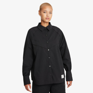 NIKE W NSW ICN CLSH WVN LS TOP