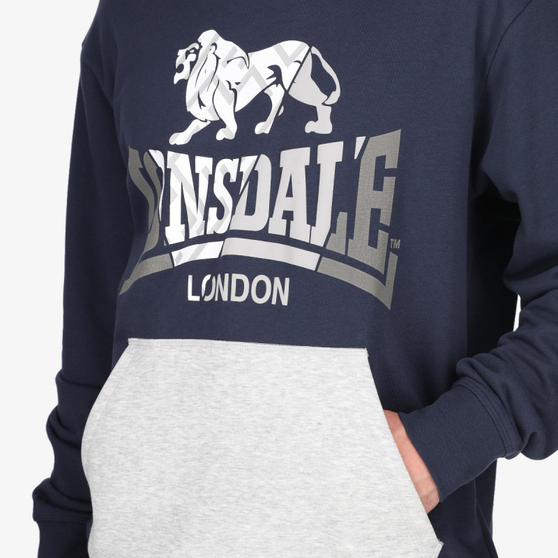 LONSDALE LNSD GRAPH HOODY