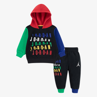 NIKE ODJECA-TRENERKA-JORDAN LEGACY OF SPORT FLEECE SET