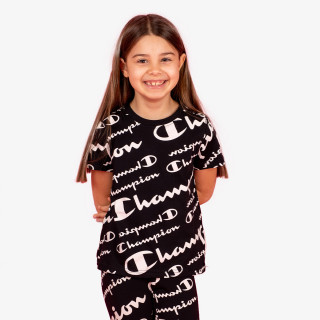 CHAMPION GIRLS ALL OVER T-SHIRT