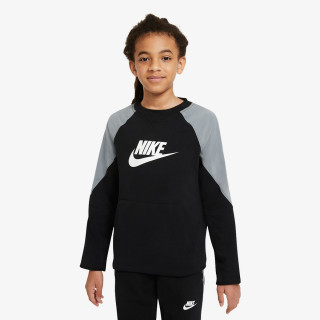 NIKE ODJECA DUKS B NSW MIXED MATERIAL CREW FT