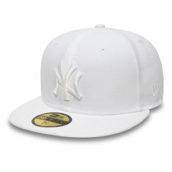 NEW ERA KACKET-OPTIC  NEW YORK YANKEES WHITE ON