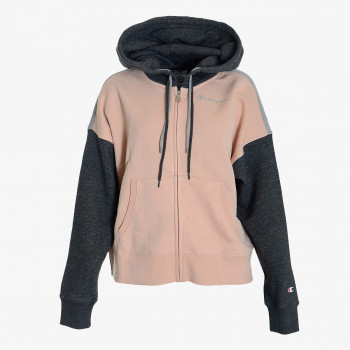 CHAMPION ODJECA-DUKS-HOODED FULL ZIP SWEATSHIRT