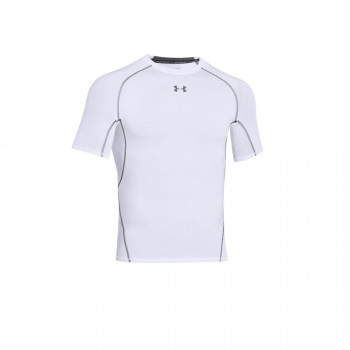 UNDER ARMOUR ODJECA-MAJICA-ARMOUR HG SS T-WHT//GPH