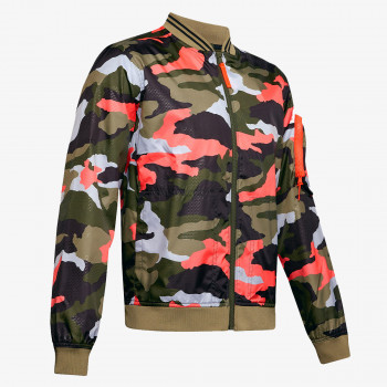 UNDER ARMOUR ODJECA-JAKNA-UNSTOPPABLE CAMO BOMBER