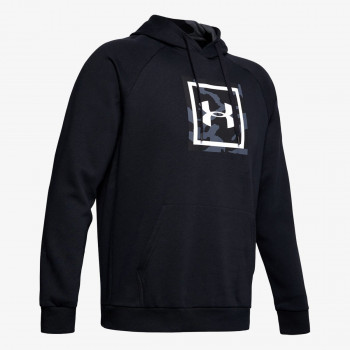 UNDER ARMOUR ODJECA-DUKS-RIVAL FLEECE PRINTED HOODIE