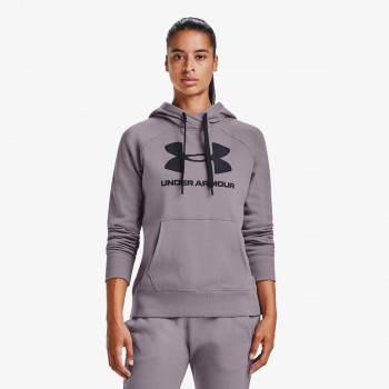 UNDER ARMOUR ODJECA-DUKS-RIVAL FLEECE LOGO HOODIE