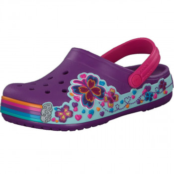 CROCS PAPUCE-CROCS CB FUN LAB GRAPHIC CLOG KIDS 20498