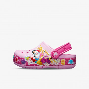 CROCS PAPUCE-CROCS FL PRINCESS BAND LIGHT CLOG KIDS