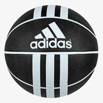 ADIDAS LOPTA-3 STRIPES RUBBER BASKETBALL-LOPTA