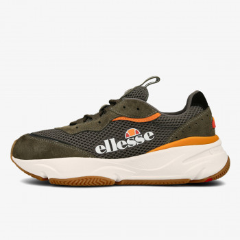 ELLESSE OBUCA-PATIKE-MASSELLO TEXT AM DK GRN/ORG/WHT