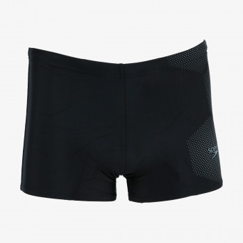 SPEEDO ODJECA-KUPACI-TECH LOGO ASHT AM BLACK/GREY