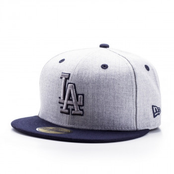 NEW ERA KACKET-HEATHER TOP LOS ANGELES DODGERS O