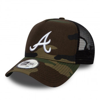 NEW ERA KACKET-KAPA LEAGUE ESSENTIAL TRUCKER ATLBRA WDCWHI