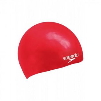 SPEEDO KAPA-MOULDED SILICONE CAP J RED SU5