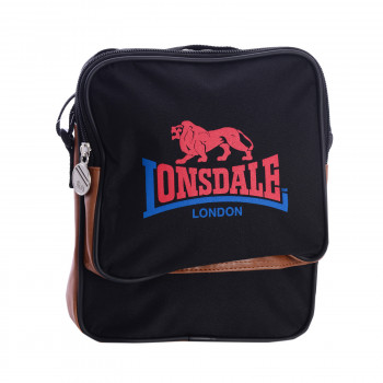 LONSDALE TORBA-LONSDALE GADGET BAG BLACK/BROWN