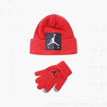 KAPA JORDAN JAN OFFSET PATCH BEANIE