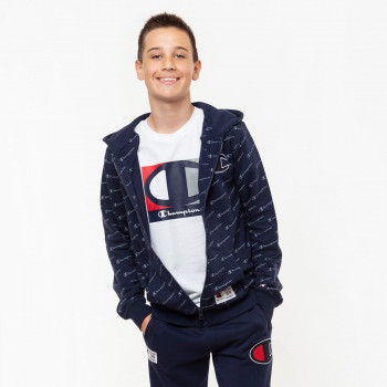 CHAMPION ODJECA-DUKS-BOYS ALL OVER FULL ZIP HOODY