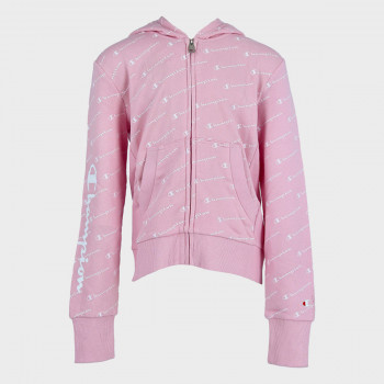 CHAMPION ODJECA-DUKS-GIRLS ALL OVER FULL ZIP HOODY