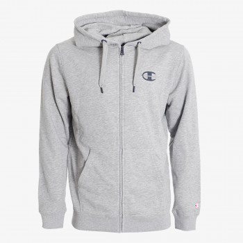 CHAMPION ODJECA-DUKS-BIG LOGO FULL ZIP HOODY