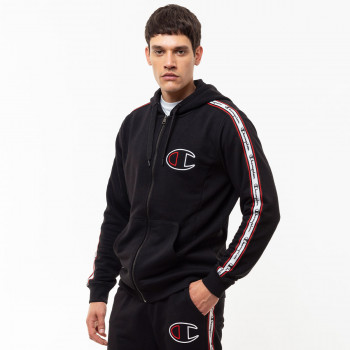 CHAMPION ODJECA-DUKS-ALL OVER FULL ZIP HOODY