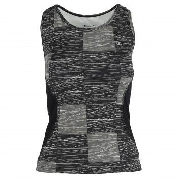 CHAMPION ODEJCA-TOP-PRINTED NET TANK TOP