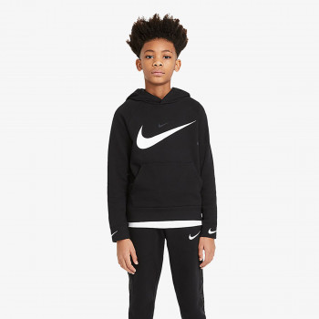 NIKE B NSW FLC SWOOSH HOODED PO