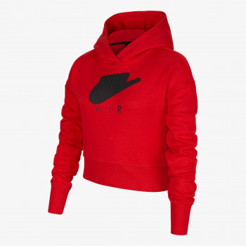 NIKE NIKE NIKE G NSW AIR FT CROP HOODIE HBR