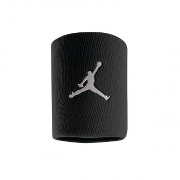 NIKE ZNOJNICA-JORDAN JUMPMAN WRISTBANDS BLACK/WHITE