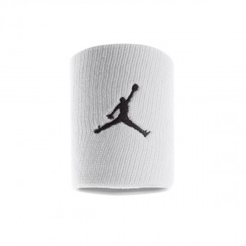 NIKE ZNOJNICA-JORDAN JUMPMAN WRISTBANDS WHITE/BLACK