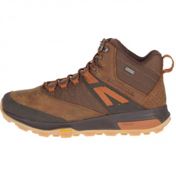 MERRELL OBUCA CIPELE ZION MID WP/TOFFEE