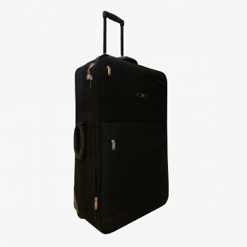 J2C KOFER-J2C BLACK SOFT SUITCASE 26INCH