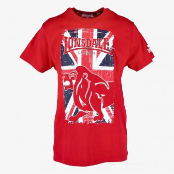 LONSDALE ODJECA-MAJICA-FLAG LION TEE