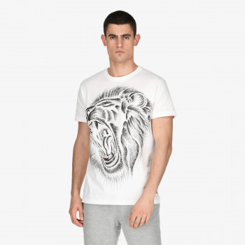 LONSDALE ODJECA-MAJICA-LONSDALE LION TEE