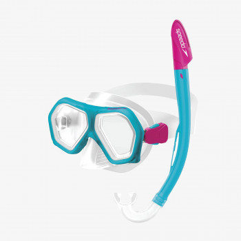SPEEDO MASKA-SPEEDO LEISURE JUNIOR DUAL LENSES COMBO