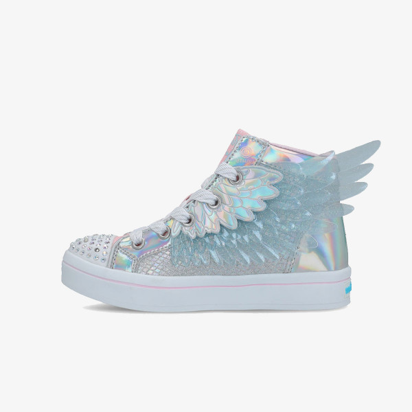 SKECHERS OBUCA-PATIKE-TWI-LITES 2.0 - UNICORN WINGS