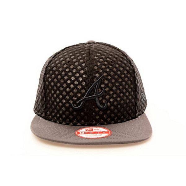 NEW ERA KACKET-MESH CROWN ATLANTA BRAVES BLACK/B